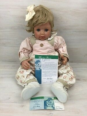 Master Piece Collectible Limited Edition Wax Doll Paulina by Monika Levenig COA