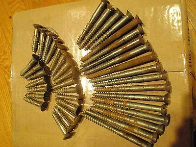 large wood screws from vintage player piano