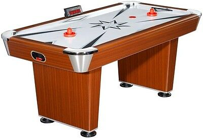 Hathaway Midtown 6 ft. Air Hockey Table standard Environmentally Safe Playing