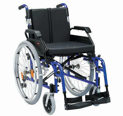 Enigma Drive XS Lightweight Portable Self Propelled Wheelchair - XSAWCSP18BL