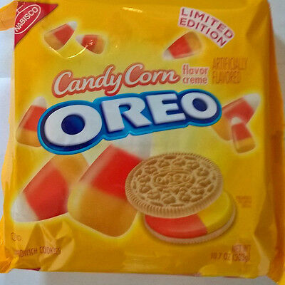 LIMITED EDITION Candy Corn OREO sandwich creme cookies biscuits 303g from USA