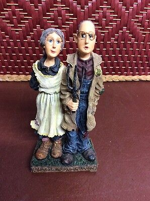 Boyds Bears Folkstone Figurine Hilly and Willy Homegrown... Politics of Marriage