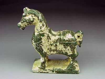 Antique Chinese Hand-carved  jade statue Horse 805