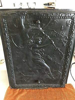 Ornate Vintage Fire Place Cover