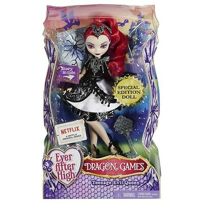 Ever After High Special Edition Dragon Games Teenage Evil Queen Doll New Dhf97