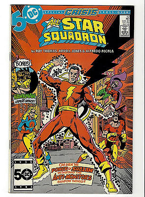 All-Star Squadron #52 - Crisis Cross-Over