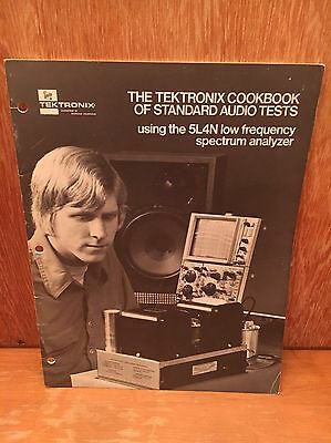 The TEKTRONIX COOKBOOK OF STANDARD AUDIO TESTS 5L4N low frequency spectrum