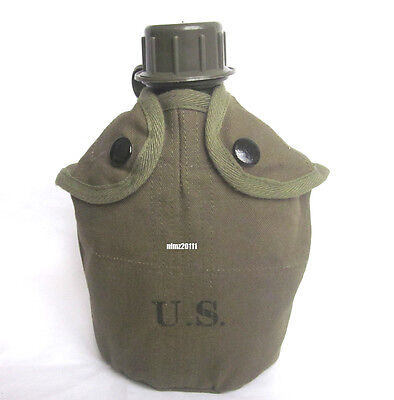 US Army M1956 Vietnam War Canteen W Cover