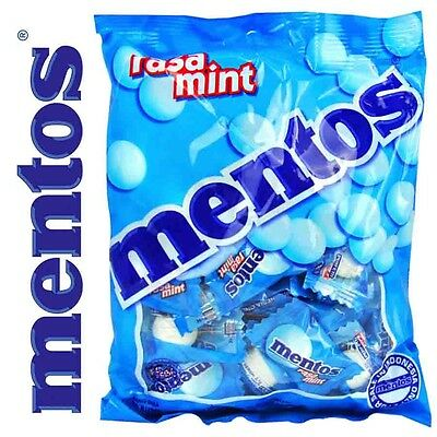 Mentos Mints Chewy BULK 10 PACK - That's Approx 500pcs Individually Wrapped
