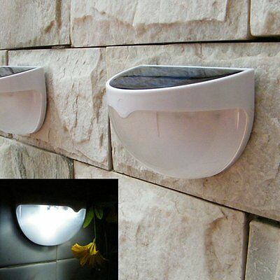 6 LEDs Solar Power Waterproof Motion Sensor Garden Security Lamp Outdoor Light