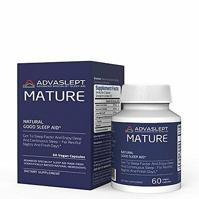 ADVASLEPT MATURE - A Game-Changer In The Natural Sleeping Pills- 60 caps