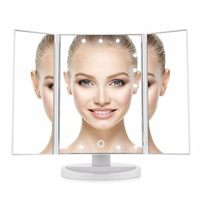 Easehold 21 LED Illuminated Makeup Cosmetic Touch Screen Beauty Vanity Mirror【AU