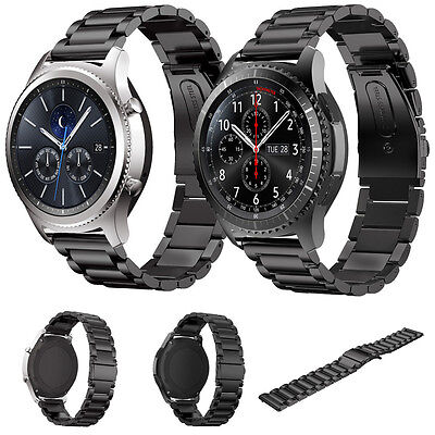 Stainless Steel Strap Wrist Band Bracelet For Samsung Gear S3 Classic/Frontier .