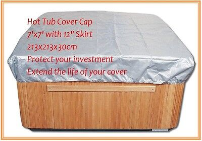 100% match well customize spa cover guard& sun shield less than 7.2f tx7.2ft