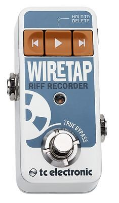 TC Electronic WireTap Riff Recorder Guitar Effect Pedal