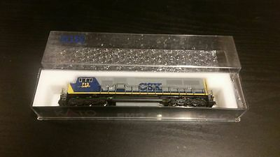 New Kato N Scale EMD SD70MAC CSX #713 Locomotive Loco Model Train DCC Ready