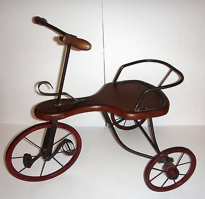 Replica of an Antique Tricycle