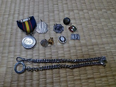 WWII WW2 Japanese Pin MEDAL MILITARIA JAPAN ARMY NAVY BADGE 0A73