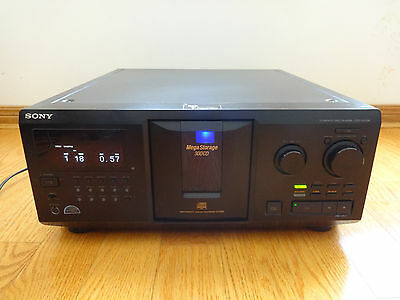 Sony CDP-CX355 Mega Storage 300-Disc CD Changer 2003 TESTED Works Great!