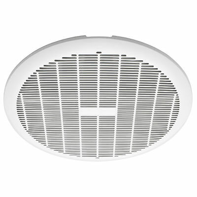 Heller 250mm Round Extractor Exhaust Fan HEFW250 White