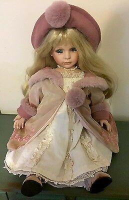 Homeart Collectors Porcelain Doll - 50cm