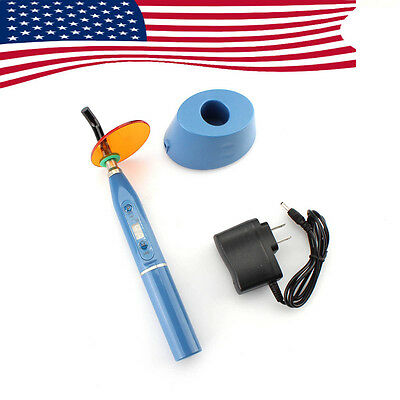 1500mw 5W Blue Health Dental Curing Light Lamp Wireless Cordless LED CE FDA