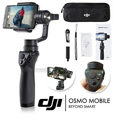 New DJI Osmo Mobile 3-Axis Handheld Gimbal Camera Video Smartphone Stabilizer