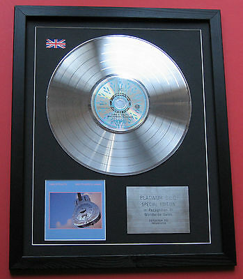 DIRE STRAITS  Brothers In Arms CD / PLATINUM LP DISC