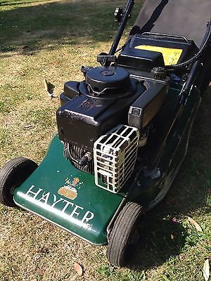 Hayter 41 Key Start Petrol Lawn Mower with Roller