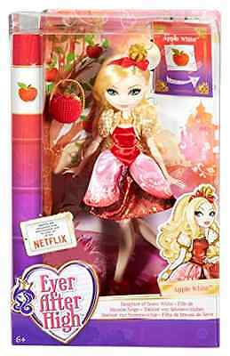 Character Ever After High Apple White Doll Fashion Pretend Play Collectible Toy
