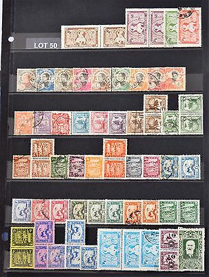 """Lot 50  Timbres France """" Indochine """""""