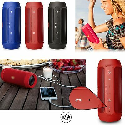 New Charge 2 Plus Splashproof Portable Wireless Bluetooth Mini Portable Speakers