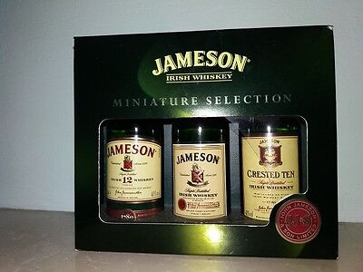 Miniature Selection JAMESON Irish Whiskey mignon 3 x 50ml