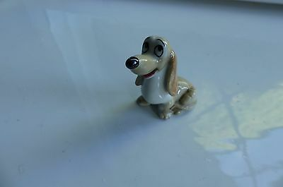 Miniature porcelain long eared dog