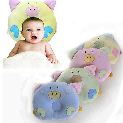 Soft Cotton Piggy baby Newborn Infant Sleeping Support Pillow Positioner Prevent