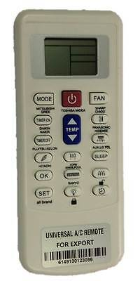 COMPATIBLE REMOTE CONTROL for KELVINATOR AIR CONDITIONER 6711A20010Z KSR25D