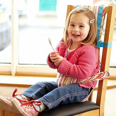 The Gro Company Baby Toddler Chair Portable Safety Harness - Jazz Stripe Design