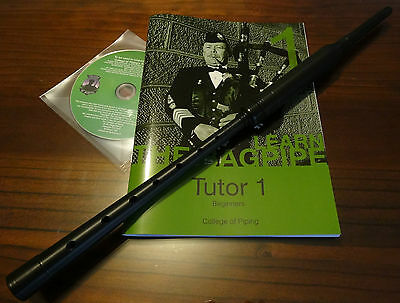 Bagpipe Learners Package- Standard practice chanter, CD-rom and Tutor Book