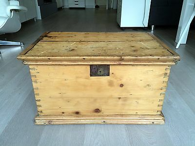 Old Wooden Sea Chest