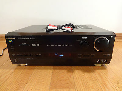 Panasonic SA-HE75 5.1ch 500w Audio Video Stereo Receiver TESTED 100% Works Great