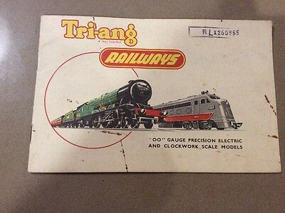 Model Trains Triang Railway  Catalogue 1955 First Edition