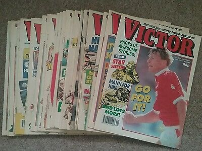 28 VICTOR comics from 1992 classic UK comic - great condition