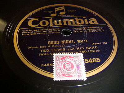 6/4L Ted Lewis - Good Night - Moonlight Madness