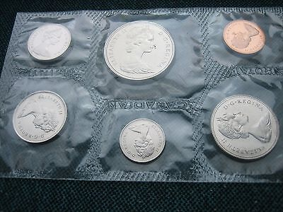 Canadian   coin set 1969.
