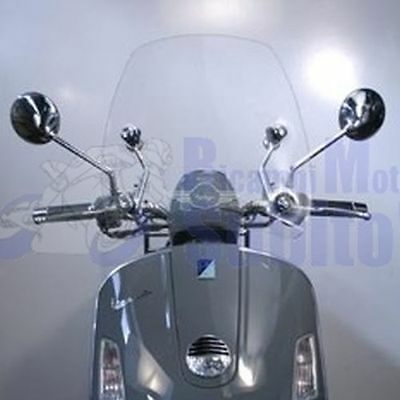 Windscreen Windshield Piaggio Vespa Gt60 Gtv Via Della Moda Fitting Kit Includ