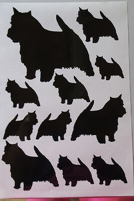 Norwich terrier vinyl stickers/ car decals/ window decals