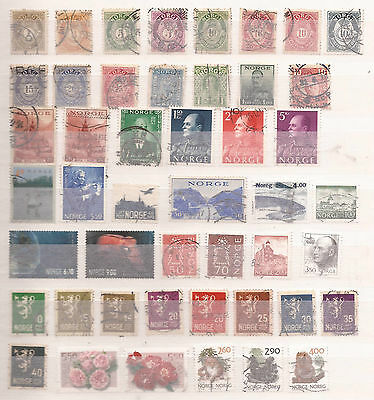 Norway - Lot Of Stamps
