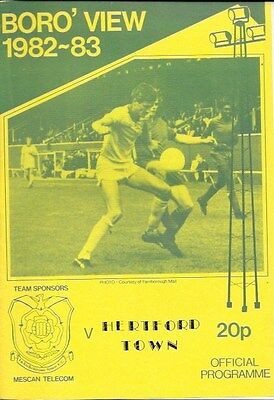 Farnborough Town V Hertford Town  - 82/83.