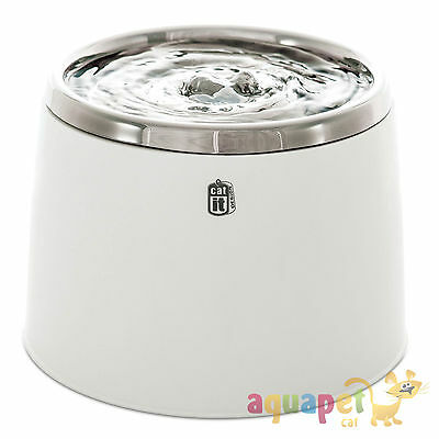 Catit Fresh & Clear Stainless Steel Water Fountain