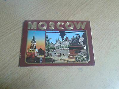 RUSSIAN SOVIET POSTCARD Moscow views, published by Aeroflot